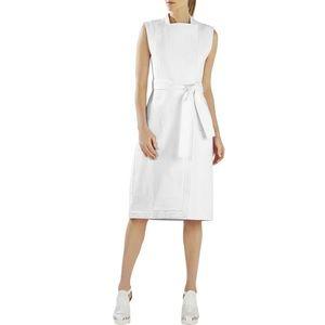 BCBG Maxazria Runway Augustin Trench Dress White
